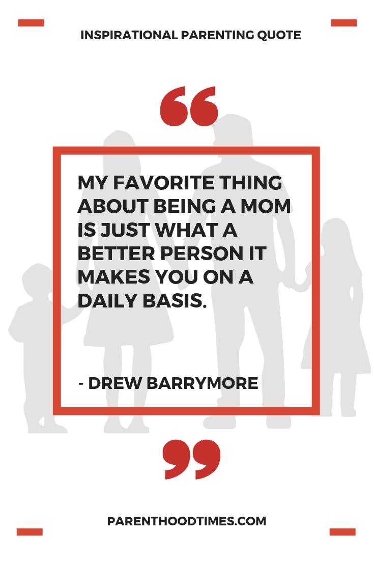 quote for new moms from Drew