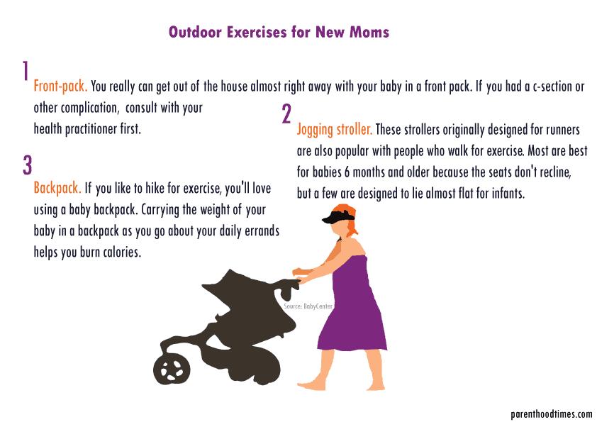 Mom Walking Exercise