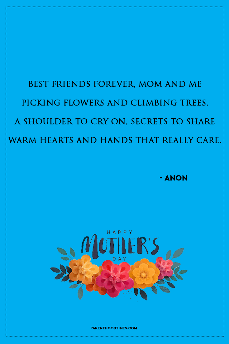Happy Mother's Day Quotes/Poems