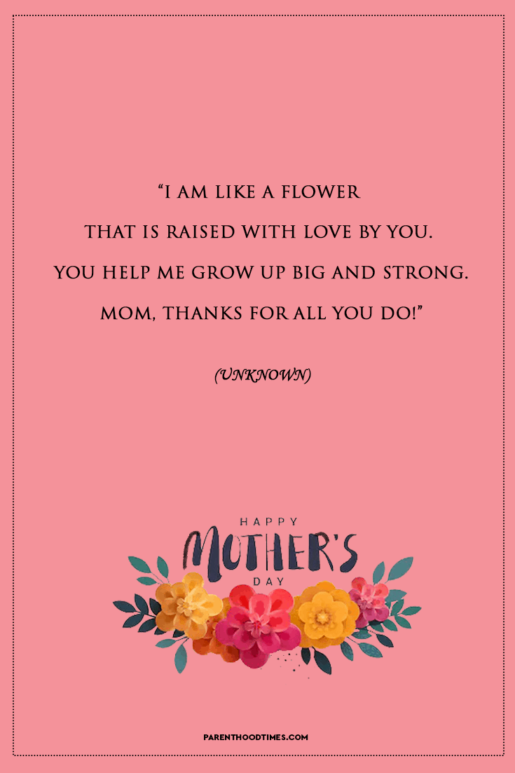 Happy Mother's Day Sayings