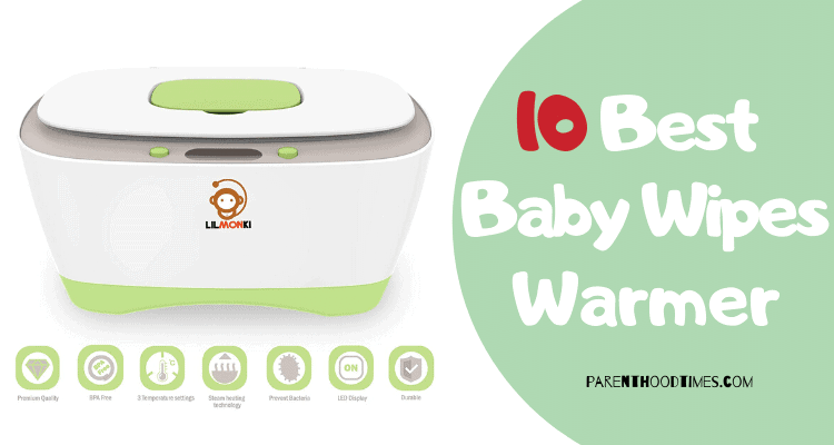 Baby Wipes Warmer and Dispenser Dual Heat for Babys Comfort Improved Design and Only Available at Advanced Features with 4 Bright Auto Off LED Ample Lights for Easy Nighttime Changes